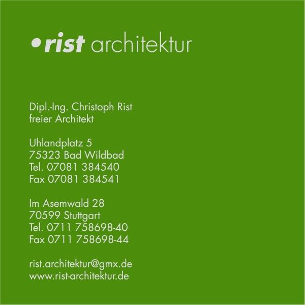 Logo rist architektur