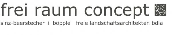 Logo frei raum concept