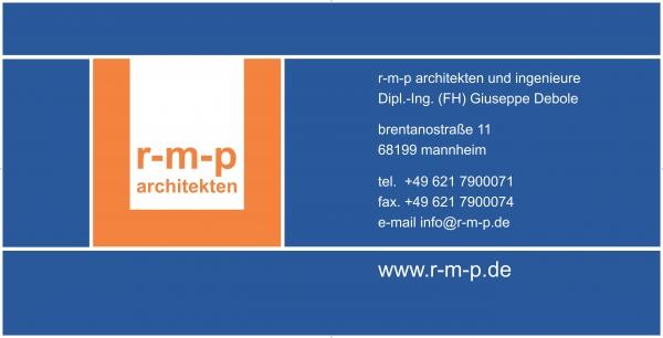 Logo r-m-p architekten und ingenieure