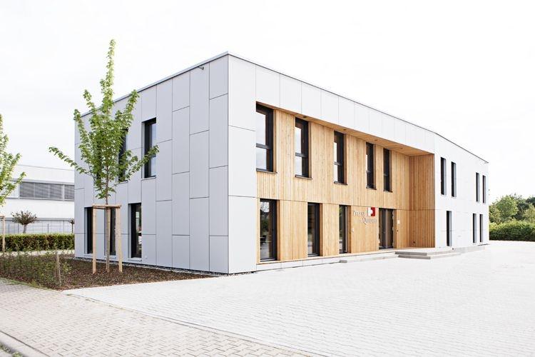 """Neubau Bürogebäude für die """"Pflege im Quadrat GmbH"""" in Mannheim"""