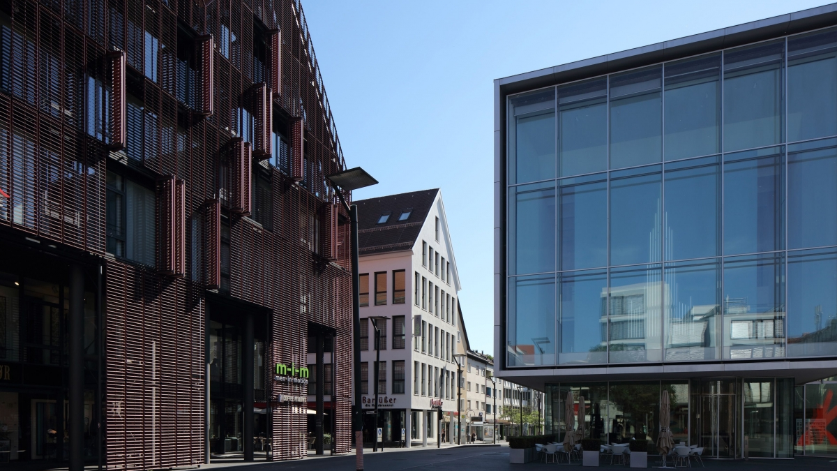 Umbau Neue Straße | Barfüßer und RIKU Hotel, Ulm