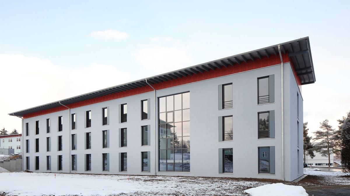 Unterkunftsgebäude S, Stetten