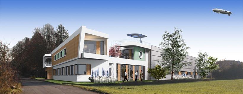 Neubau Wohn- und Geschäftshaus mit Gewerbehalle