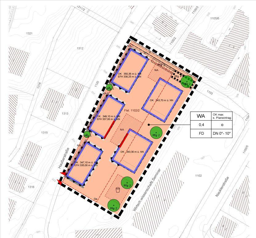 Vorhabenbezogener Bebauungsplan in Tübingen 2014