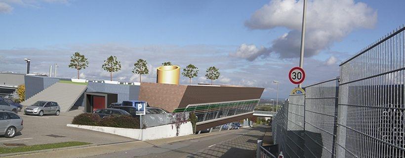Neubau Ausstellungshalle