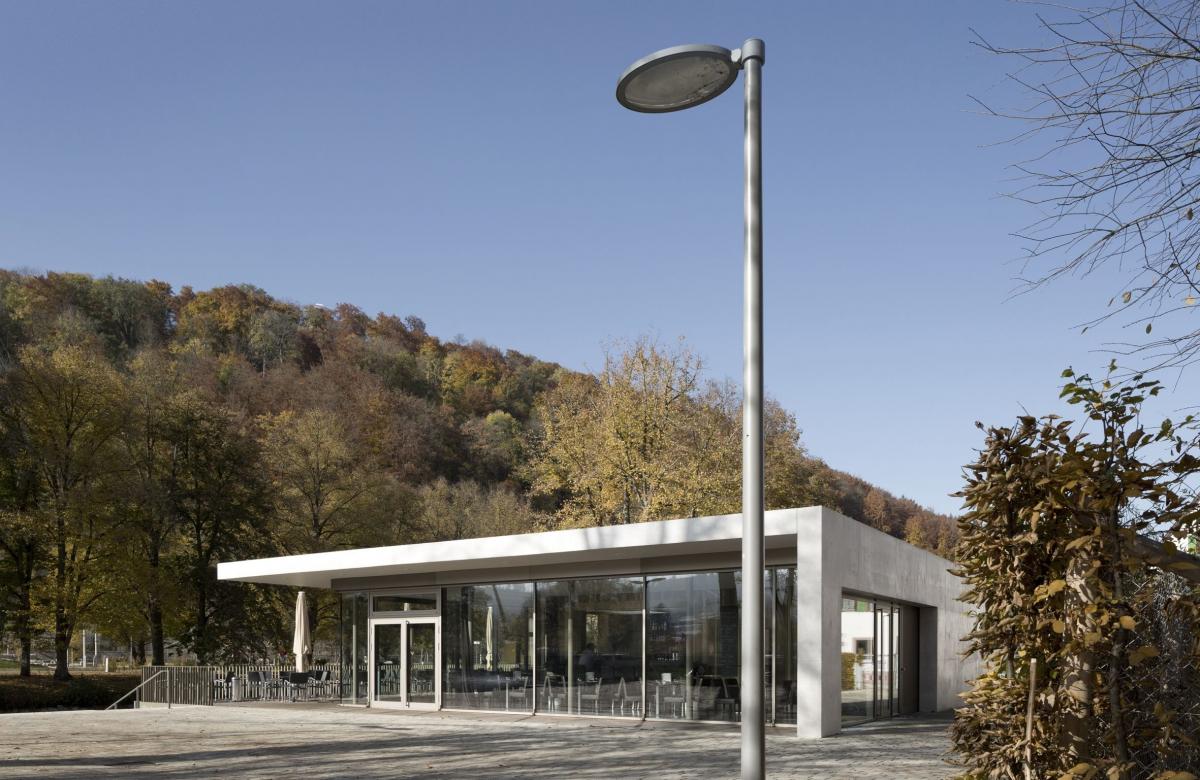 Restaurantgebäude am Longwy-Platz in Nagold 2010-2012