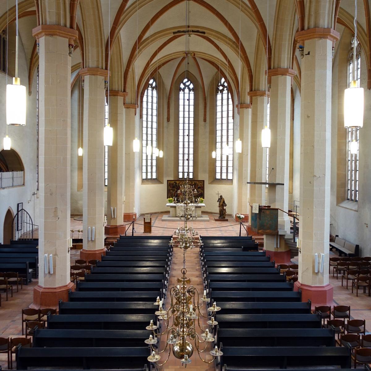 St. Lamberti Hildesheim - Beleuchtung einer spätgotischen Hallenkirche