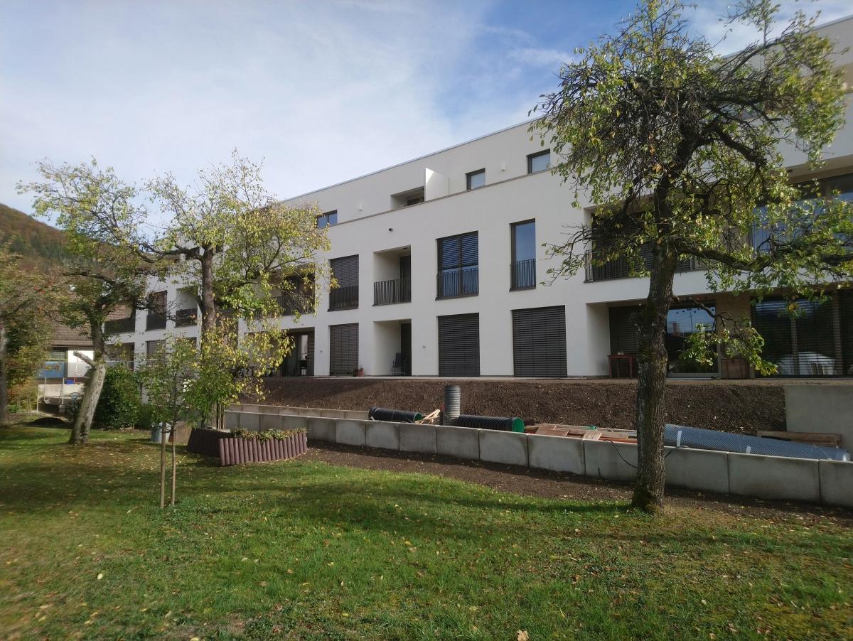 Wohnen PLUS: 13 barrierefrei nutzbare Wohnungen und ein Gemeinschaftsraum in Geislingen, 2016-2018