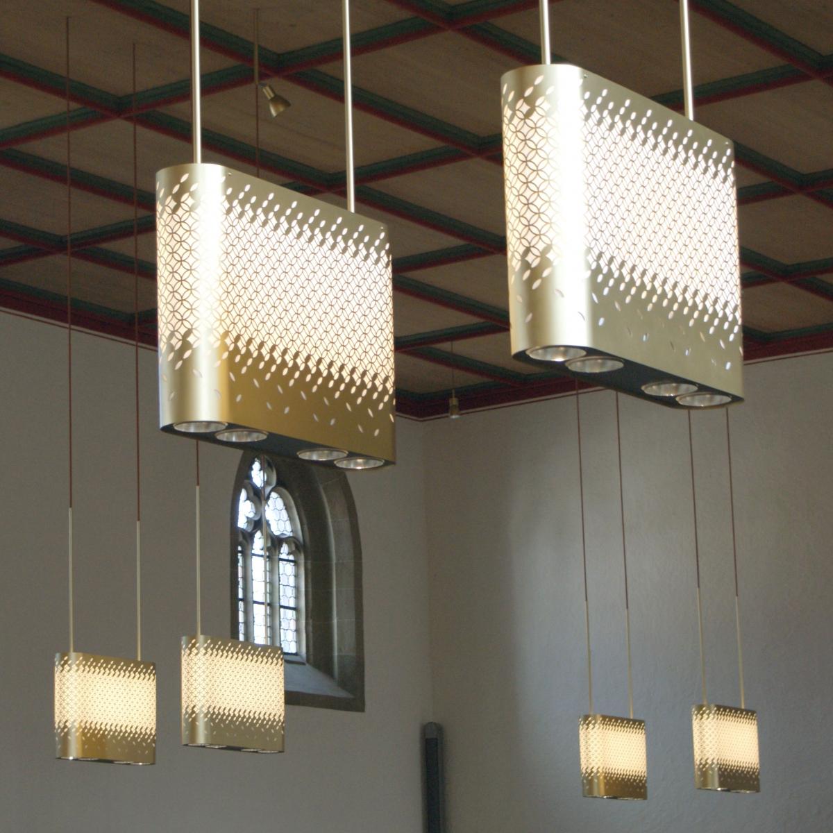 Stadtkirche Schorndorf - energieeffiziente Beleuchtung einer großen Stadtkirche