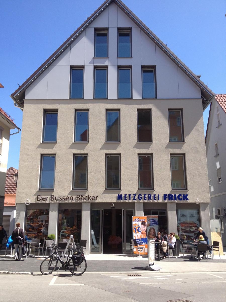 Wohn-und Geschäftshaus Hauptstrasse Bad Saulgau