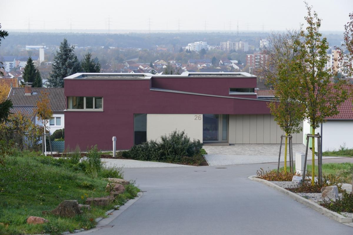 Neubau Einfamilienhaus, Haus K (2014)