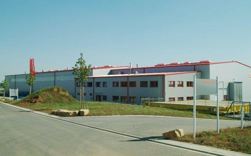 Neubau  Verwaltungsgebäude mit Produktionshallen in TBB Industriepark  A81