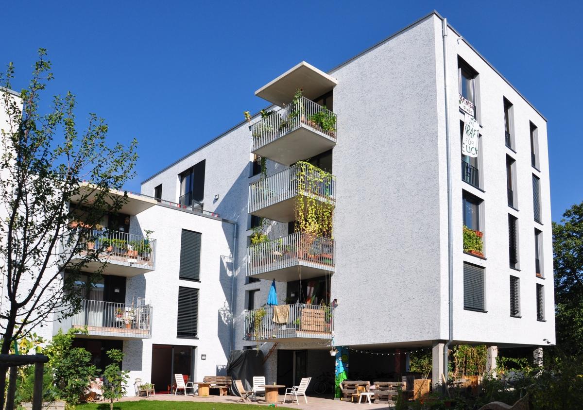 Freiburg Gutleutmatten, Luftschloß