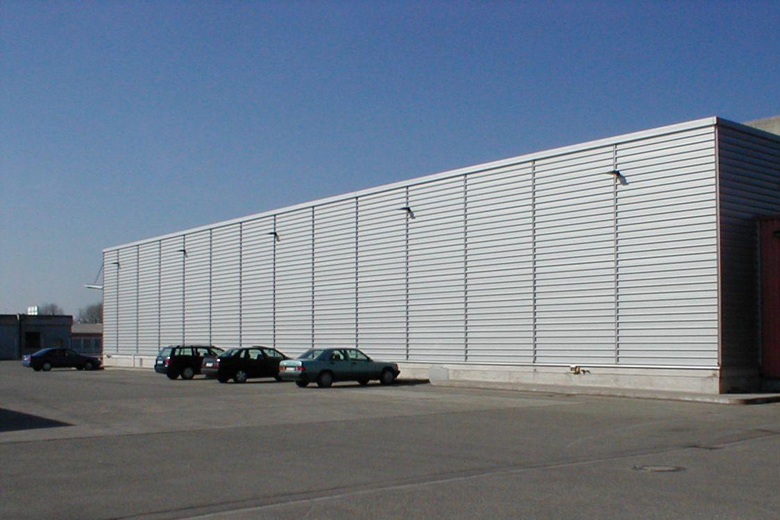 Produktionsgebäude Mengen