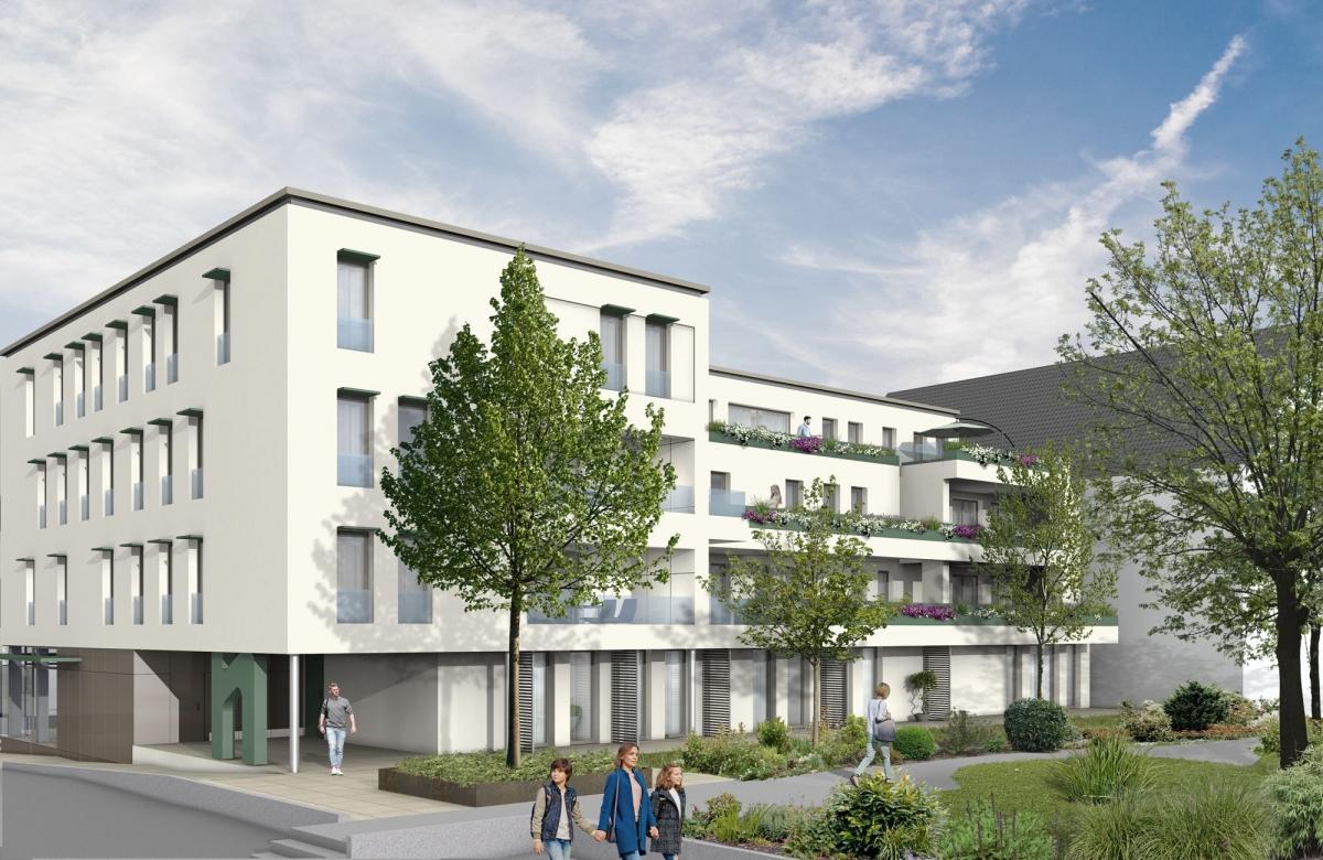 Nestbau Kirchheim/Teck: Ein Gebäude für Wohnen und Arbeiten im Steingau-Areal, 2018-2021