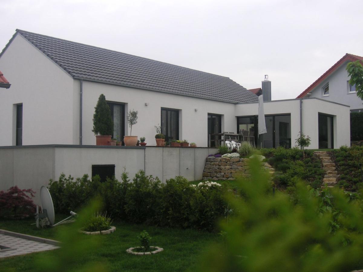 Neubau Wohnhaus / Ölbronn-Dürrn / 2007