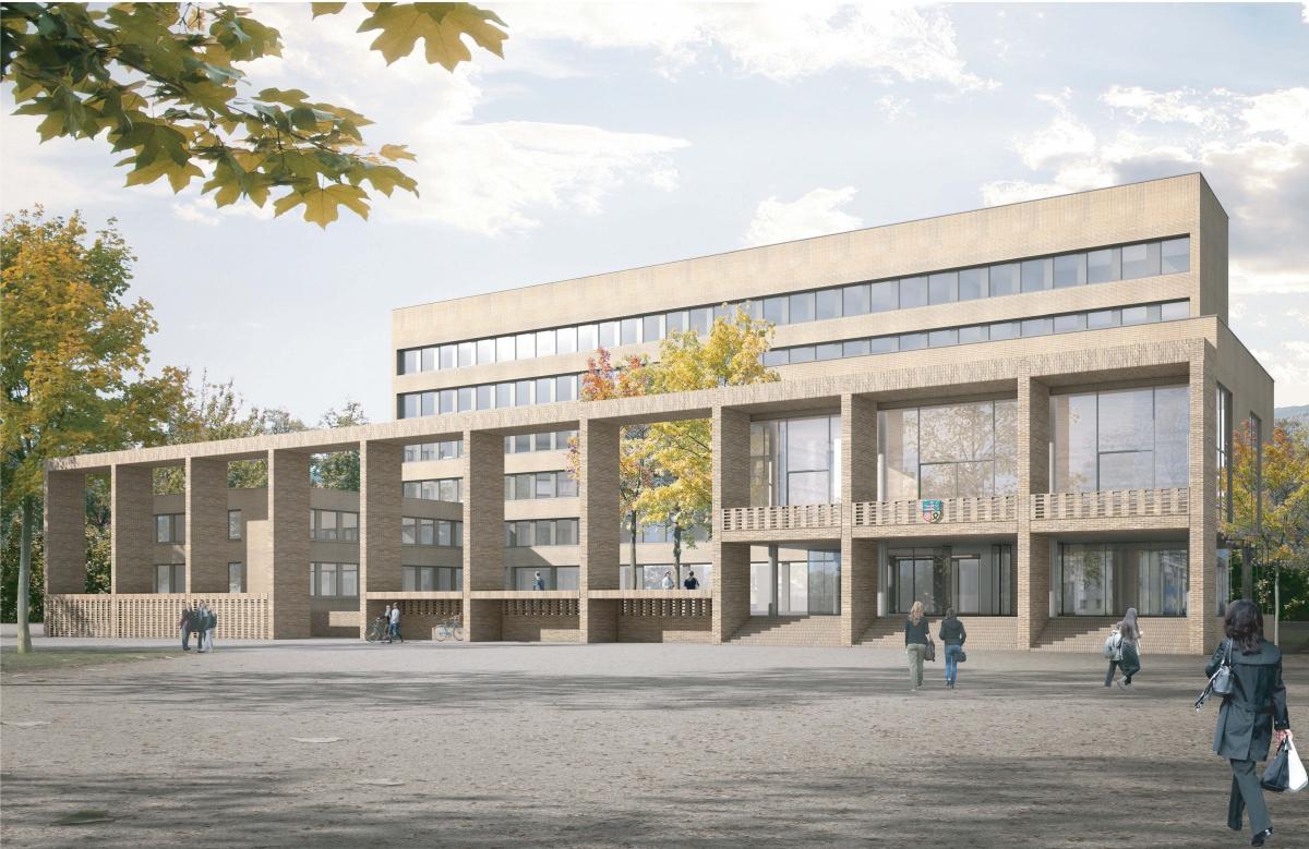 Wettbewerb Fassdadensanierung Rathaus Viernheim 2012