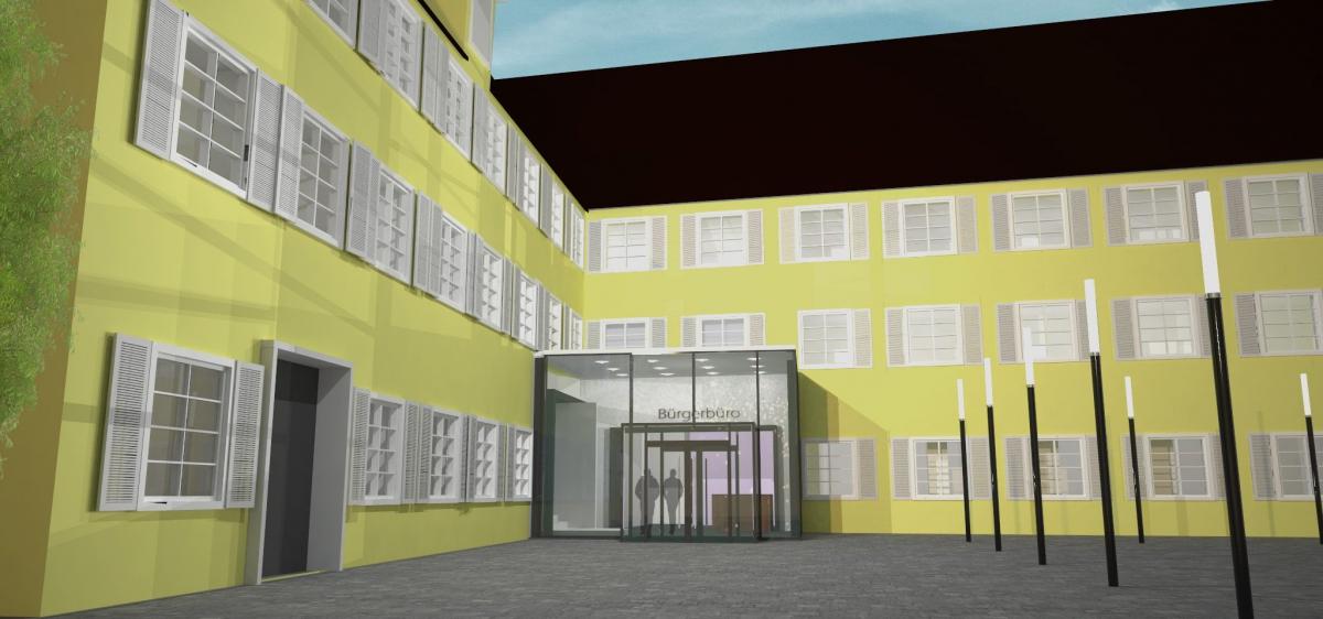 Rathaus und Bürgerbüro Bad Saulgau