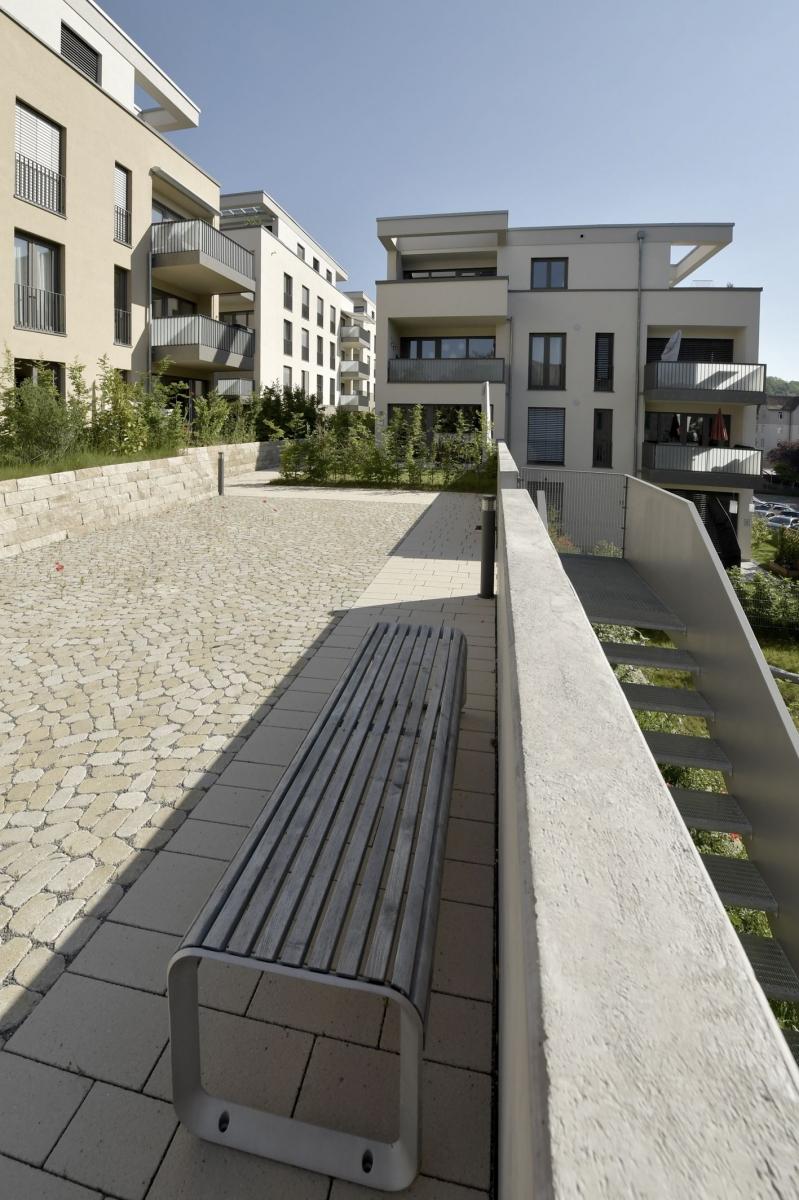 Neubau fünf Wohngebäude mit Tiefgarage in Tübingen  2012-2016