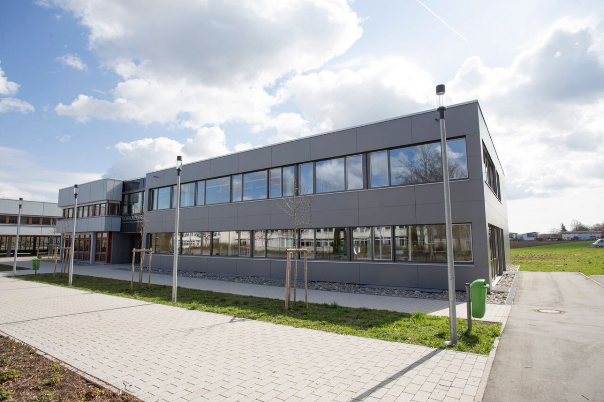 Fachraumzentrum Bad Saulgau (mit Arch. Ludwig Boll)