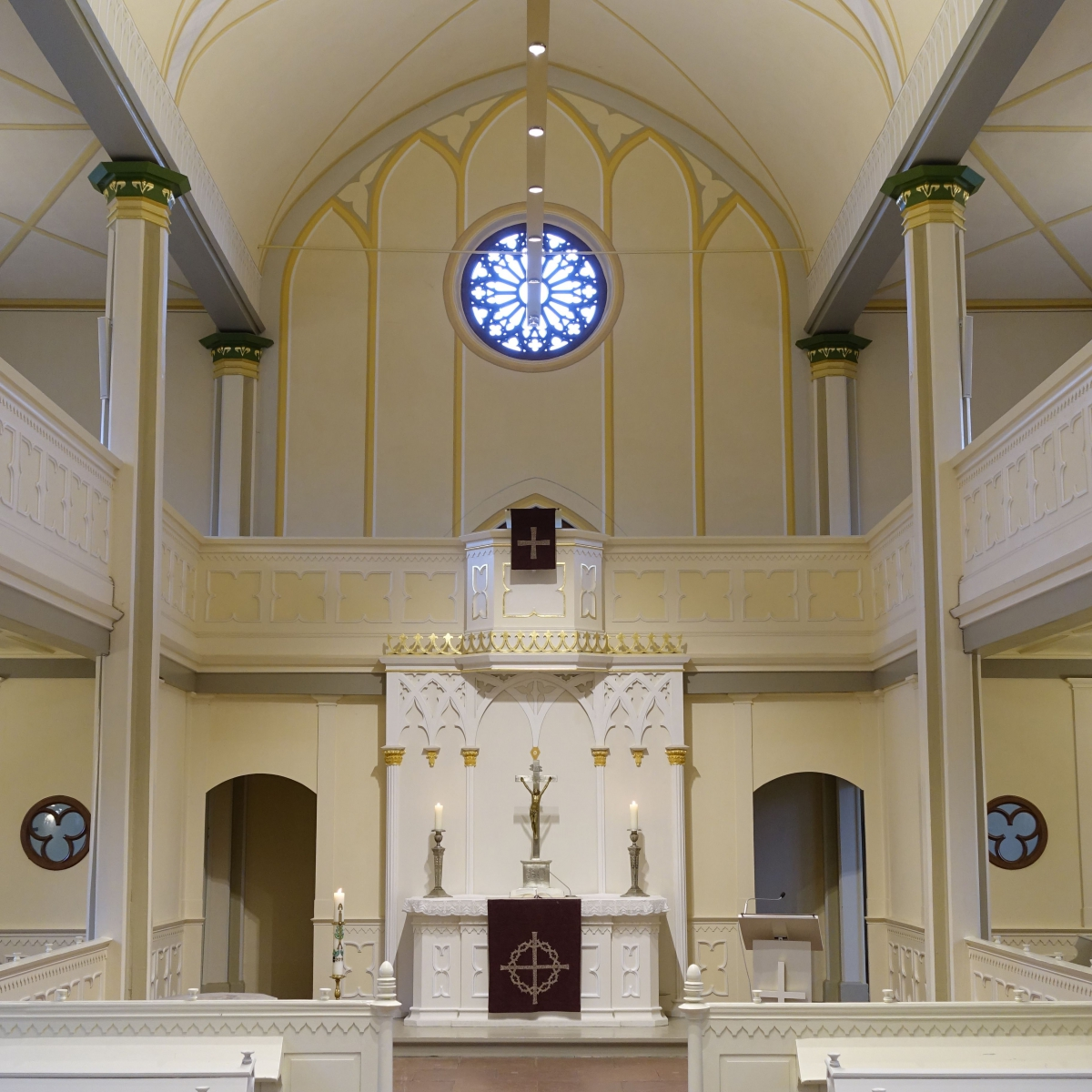 Liebfrauenkirche Woltorf - Energieeffiziente Beleuchtung einer Kirche im Stil des Spätklassizismus