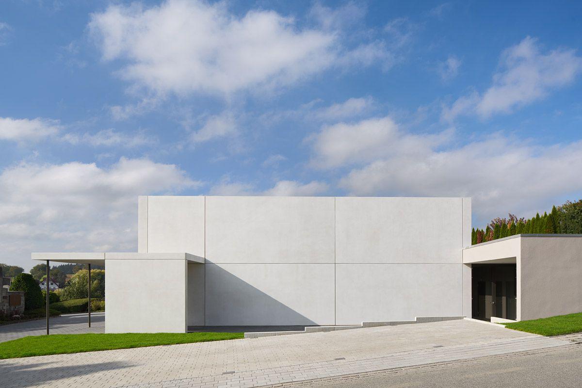 Neubau einer Aussegnungshalle, Neibsheim