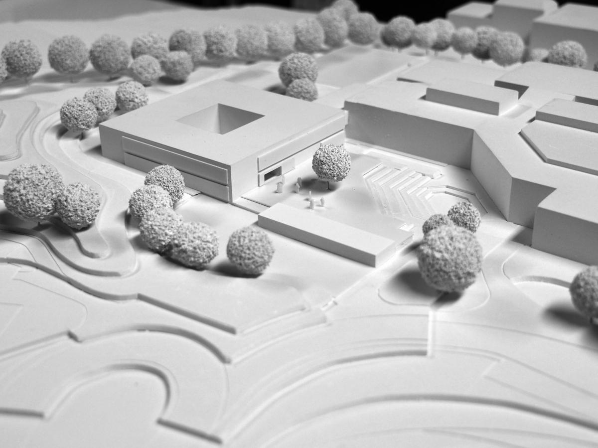 1.Preis Erweiterung der Anna-Essinger-Schulen, Ulm, 2018
