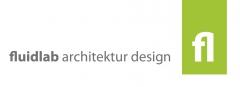 Logo fluidlab architektur design