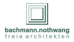Logo bachmann.nothwang freie architekten PartGmbB