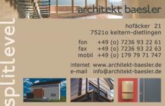 Logo splitlevel - architekt baesler