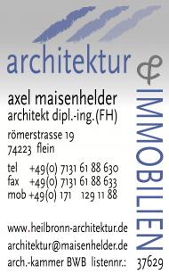 Logo Architekturbüro Axel Maisenhelder