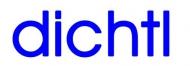 Logo dichtl architektur + energieberatung